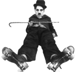 The Rink (Mutual short 1916) Directed by Charles Chaplin Shown: Charles Chaplin