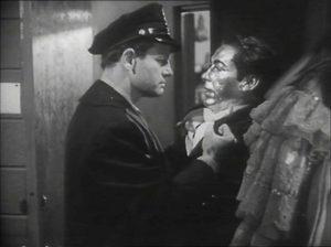 City That Never Sleeps (1953): Gig Young & Wally Cassell