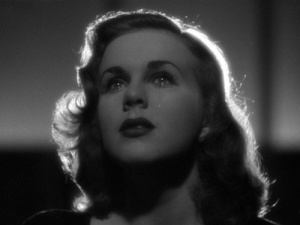 Deanna Durbin Crying in Christmas Holiday